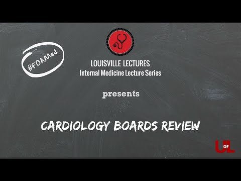 Cardiology Boards Review With Dr. Lorrel Brown
