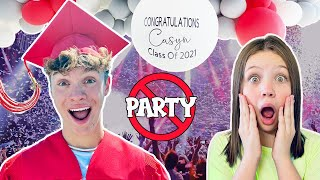 Casyn GRADUATED!! Last To Leave The PARTY!!