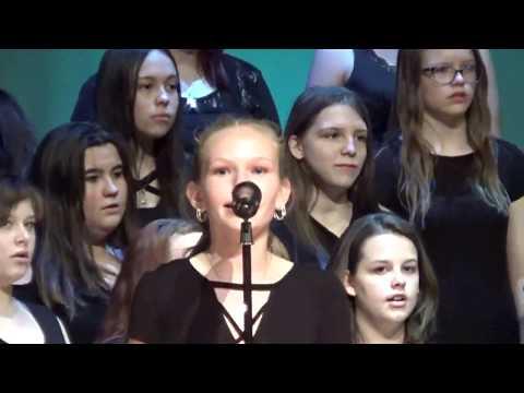 Chickasha Middle School Choir May 1, 2018