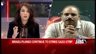 צפו: לוסי אהריש מתעמתת עם עיתונאים פלסטינים
