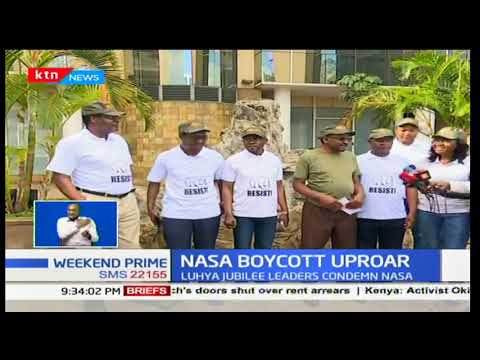 Siaya senator, James Orengo maintains boycott call is real and unstoppable