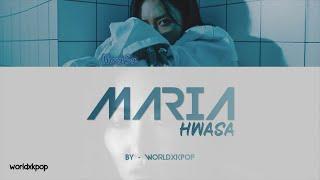 HWASA - MARIA * KOLAY OKUNUŞ+MV(EASY LYRICS)COLOR CODED