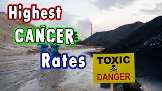 Top 10 States wİth the Highest Cancer Rates