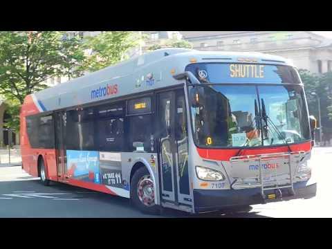 WMATA Metrobus: Bus Observations (July 8, 2017) Part 2/2 [#W026]