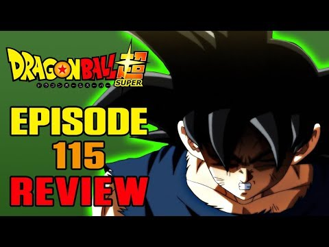 Dragon Ball Super Episode 115 REVIEW | THE ULTIMATE SUPER FOOD!