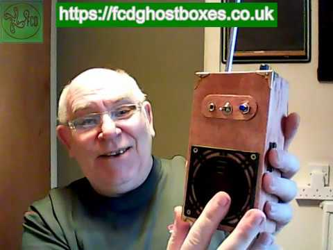 Nice hand held wooden case FCD Ghost Box