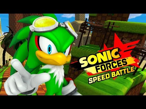 Sonic Forces Speed Battle - JET THE HAWK - NEW CHARACTER!
