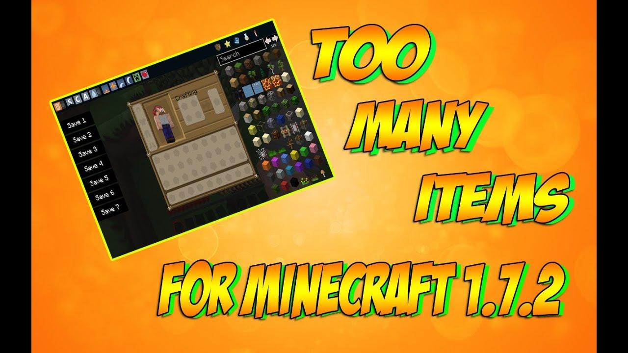 Скачать чит TooManyItems 1.8.3 для Minecraft 1.8.2/1.8.3 ...
