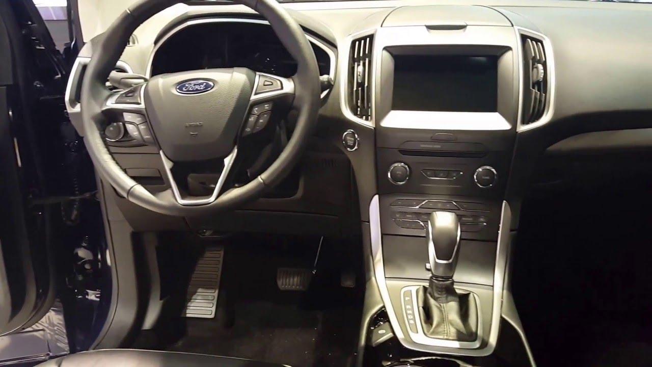 Ford Edge Sel Interior  Chicago Auto Show