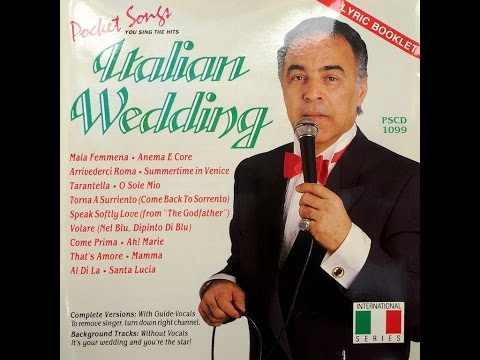ITALIAN WEDDING - Songs and Dances of Italy (With Guide Vocal)_album