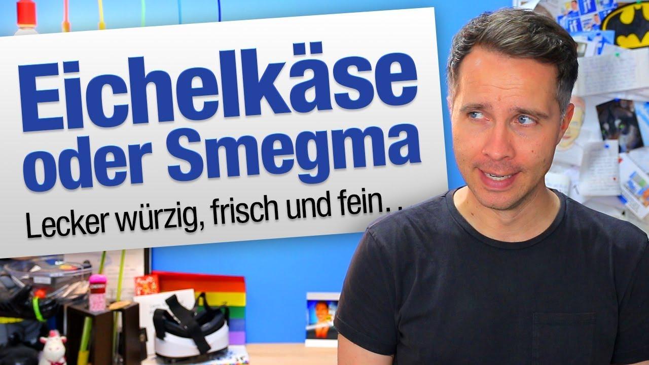 Eichelkäse/Smegma | jungsfragen.de - YouTube
