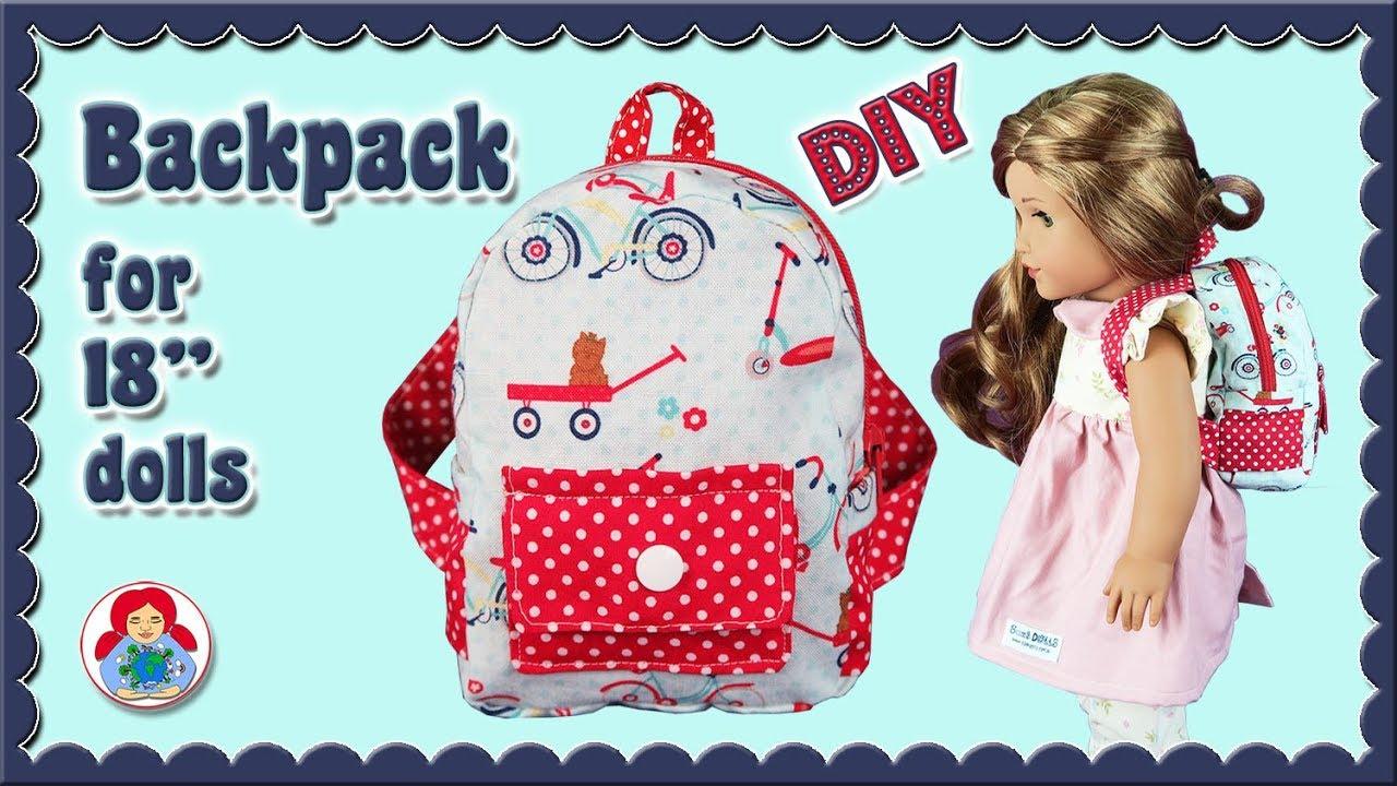 Crochet Backpack Pattern | AllFreeCrochet.com | 720x1280
