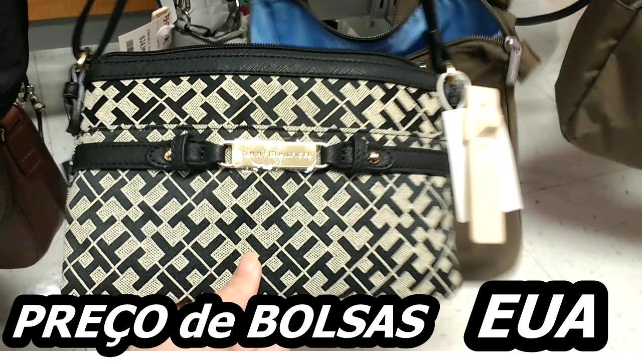 f7c6f7048 PREÇO DE BOLSA DE GRIFE nos ESTADOS UNIDOS na T.J.MAXX - YouTube