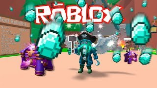 I BECOME DIAMOND SEARCHER 💍💰 - ROBLOX MINERO SIMULATOR