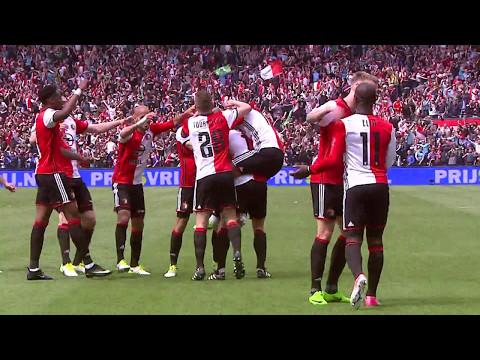 Hoogtepunten kampioenswedstrijd Feyenoord