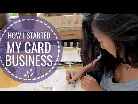 How I Started My CARD BUSINESS ✧ Girl Put In Work