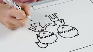 Jak powstaje rysunkowy film emce□?