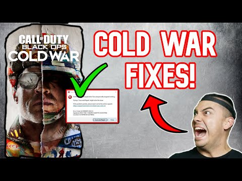 How To FIX BLACK OPS COLD WAR Crashing PC FIX GUIDE Call Of Duty