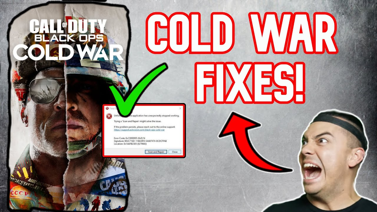 Download How To FIX BLACK OPS COLD WAR Crashing PC FIX GUIDE Call Of Duty