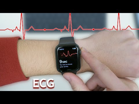 ECG Testing on Apple Watch Series 4: watchOS 5.1.2