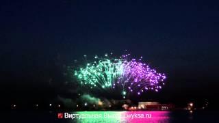 Выкса. Праздничный фейерверк в честь Дня города