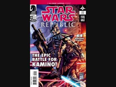 Star Wars Republic Issues 49 and 50 Defence of Kamino arc review