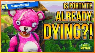 "IS FORTNITE ALREADY DYING?! (RESPONSE VIDEO TO ""Is Fortnite Already Dying"" by Optimus) #Fortnite"