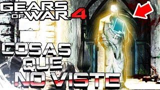 GEARS OF WAR 4 - COSAS QUE NO VISTE DE GLORIA Y SPEYER | EASTER EGGS