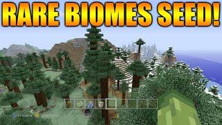★Minecraft Xbox 360 + PS3: TU31 Rare Biomes Seed - Ice Spike, Mega Taiga, Dark Oak Forest & MORE!★