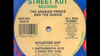 THE ARABIAN PRINCE & THE SHEIKS - SITUATION HOT (INSTRUMENTAL) 1986