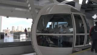 Vegas Bob Steps into The High Roller Ferris Wheel at LINQ 3-31-2014