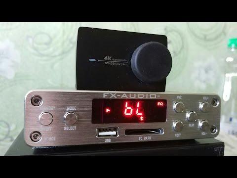 УМНЫЙ УСИЛИТЕЛЬ FX-Audio M-160E / 2 по 160 Вт ► Посылка из Китая / AliExpress