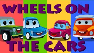 The Wheels On Car Rhymes | Kids Song | Learning Video For Kids