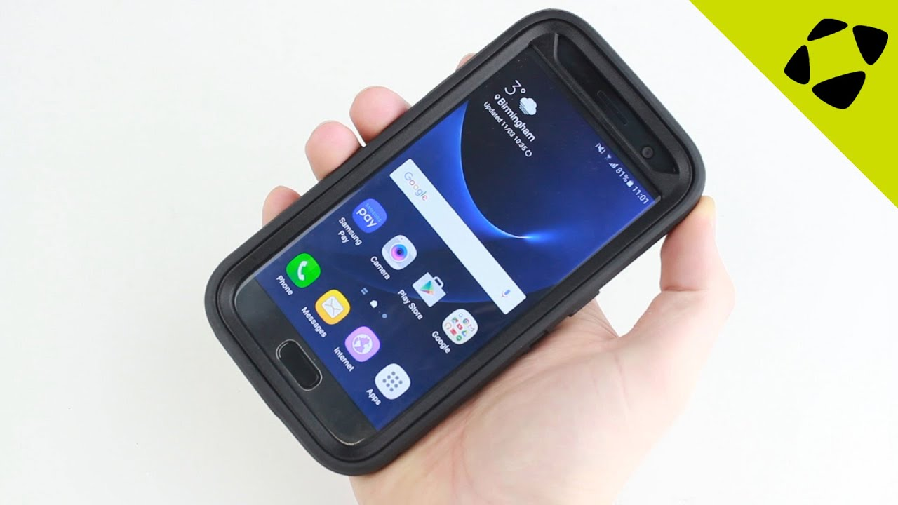 detailed look 48e7b c5532 OtterBox Defender Samsung Galaxy S7 Case Review - Hands On