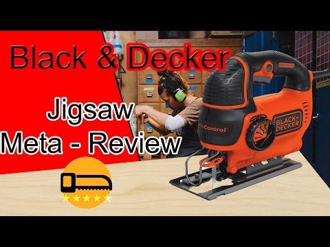 Black & Decker Jigsaw Review BDEJS600c