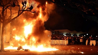 Riot Breaks Out At UC Berkeley Over Milo Yiannopoulos Speech