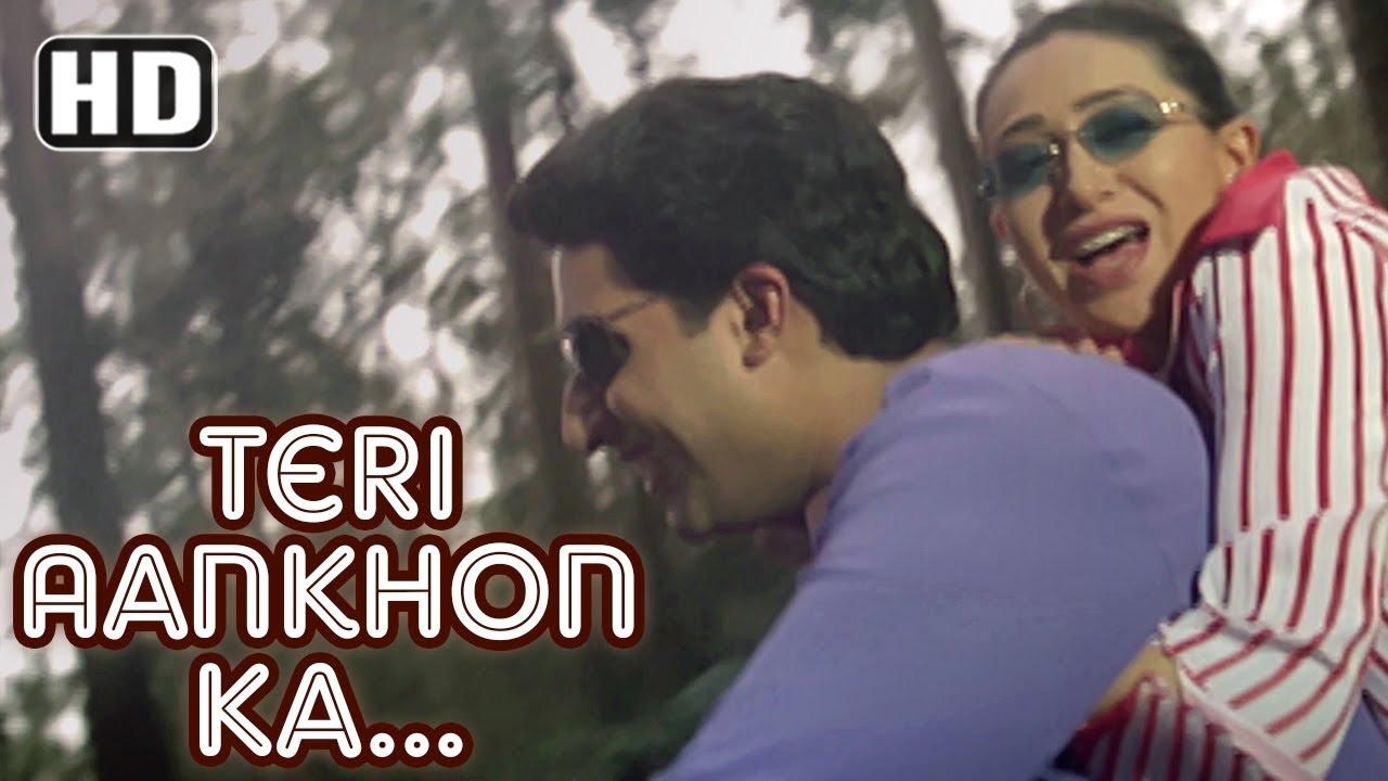 Download Teri Aankhon Ka Andaaz | Haan Maine Bhi Pyaar Kiya | Abhishek Bachchan | Karishma Kapoor| Filmigaane