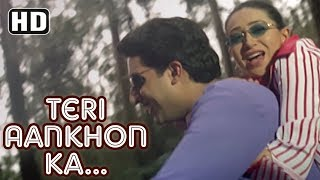Video Teri Aankhon Ka Andaaz | Haan Maine Bhi Pyaar Kiya | Abhishek Bachchan | Karishma Kapoor| Filmigaane download MP3, 3GP, MP4, WEBM, AVI, FLV November 2017