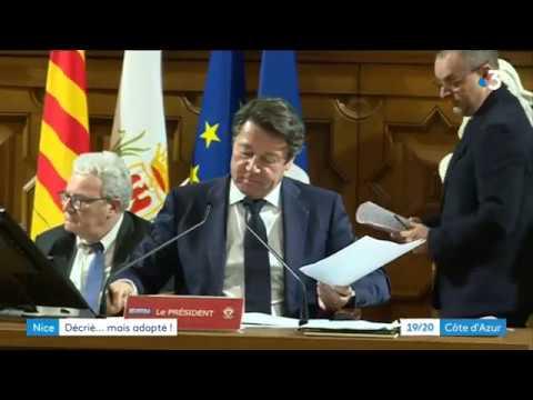 Vote d'une nouvelle taxe à la Métropole Nice Côte d'Azur