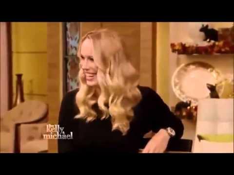 Tennis Interview  Live with Kelly and Michael movie Caroline Wozniacki