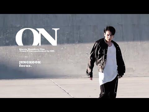 BTS 'ON' Kinetic Manifesto Film (Jungkook Focus.)