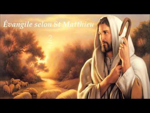 ✥ 1. Évangile selon St Matthieu (La Bible lue / La Bible audio en français) ✥