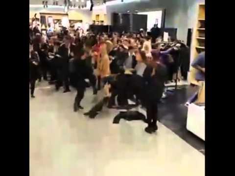 Compras de locura por venta de H&M Balmain en Santa Fe