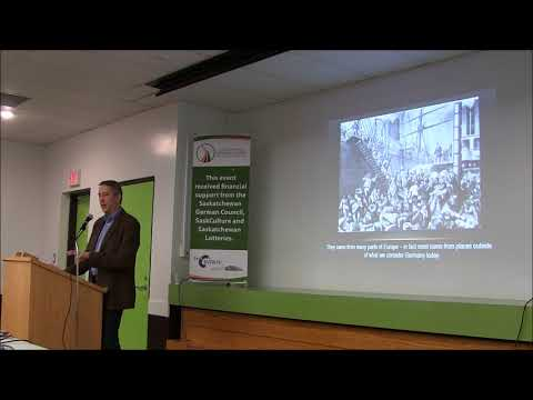 Public Lecture Series: Culture & History of German-Canadians in the Prairies