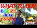 BELIZE Real Estate Investment Strategies for 2018 -  Paradise Guy