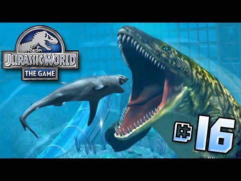 Shark Vs Mosasaur!    Jurassic World - Lagoon Series - Ep 16 HD