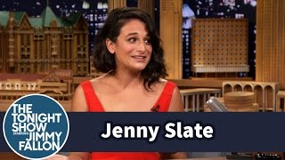 Jenny Slate Remembers Starring on Late Night's 7th Floor West