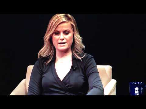 Amy Poehler Answers Question About Happiness