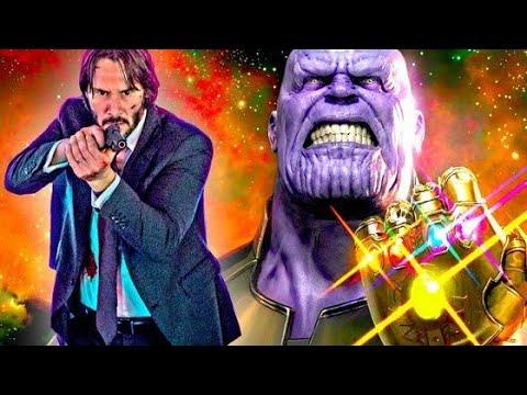 John Wick Vs Thanos Fortnite Meme Youtube