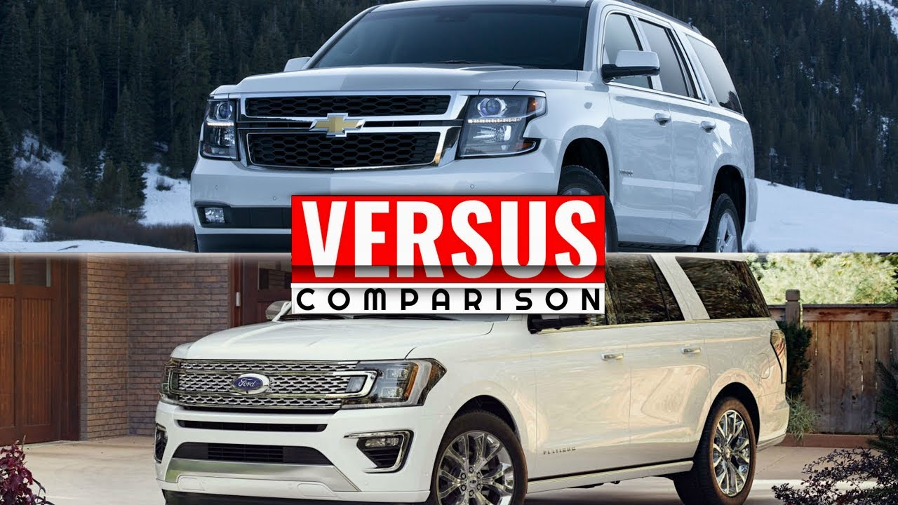 2018 Ford Expedition vs Chevy Tahoe - YouTube